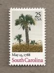 Sellos de America - Estados Unidos -  Estado de Carolina del Sur