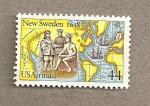 Sellos de America - Estados Unidos -  Nueva Suecia