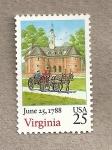 Sellos de America - Estados Unidos -  Estado de Virginia