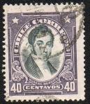 Stamps Chile -  Manuel Rengleo
