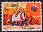 Sellos de America - Colombia -  Galeón
