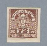 Stamps Austria -  Soldado