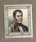 Sellos de America - México -  200  Aniv. General Nicolás Bravo