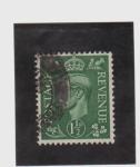 Sellos de Europa - Reino Unido -  revenue-george V