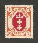 Stamps Poland -  estado libre de danzig