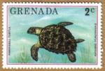 Sellos de America - Granada -  Fauna
