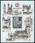 Sellos de Europa - Polonia -  POLONIA - Centro histórico de Cracovia