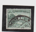 Stamps Pakistan -  embalse