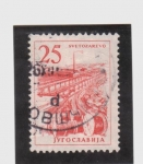 Stamps Yugoslavia -  progreso industrial