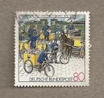 Sellos de Europa - Alemania -  Día del sello 1987