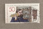 Sellos de Europa - Alemania -  100 Aniv del teléfono en Alemania