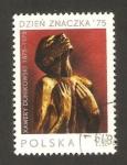 Stamps Poland -  centº del nacimiento de xamery, maternidad