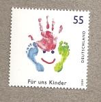 Stamps Germany -  Para nosotros los niños