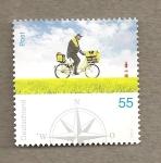 Stamps Europe - Germany -  Cartero en bicicleta