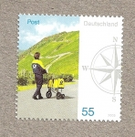 Stamps Germany -  Cartero con triciclo