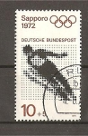 Stamps Germany -  Sapporo 72./ DBP.