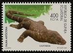 Stamps Equatorial Guinea -  Fauna Autóctona - Lagarto