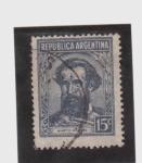 Stamps Argentina -  martín guemes