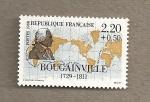 Sellos de Europa - Francia -  Boungainville, navegante