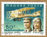 Stamps Hungary -  Aviacion