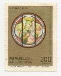 Stamps Argentina -  Vitral de la Catedral de San Isidro (Bs, As.)