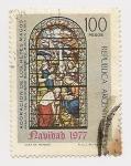 Stamps Argentina -  Adoración de los Reyes Magos
