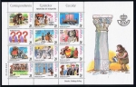 Stamps Europe - Spain -  Edifil  MP. 73  Correspondencia Epistolar Escolar