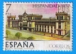 Sellos de Europa - España -  Hispanidad Guatemala. (Palacio Nacional)