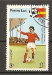 Stamps Laos -  Mundial España 82.