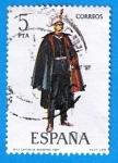Sellos de Europa - España -  Capitande Ingenieros 1921