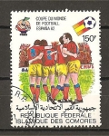 Stamps Africa - Comoros -  Mundial España 82.