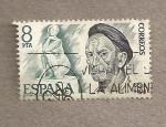 Sellos de Europa - España -  José Clará, escultor