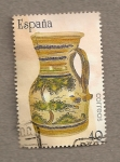 Stamps Spain -  Artesanía Española, Cerámica