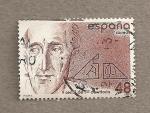 Stamps Spain -  V Centenario nacimiento Francisco de Vitoria