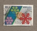 Sellos de Europa - España -  Navidad 1988