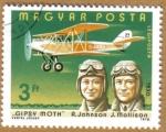 Sellos de Europa - Hungría -  Aviacion