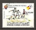 Sellos de Africa - Mauritania -  Mundial España 82.
