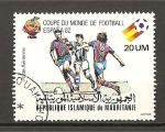 Stamps Africa - Mauritania -  Mundial España 82.