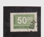 Stamps Argentina -  correo postal