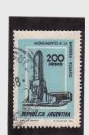 Sellos de America - Argentina -  monumento a la bandera-rosario