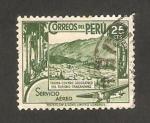 Sellos de America - Perú -  vista de tarma