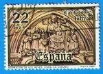 Stamps Spain -  Navidad 1980