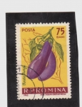 Stamps Romania -  Berengenas