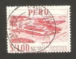 Sellos de America - Perú -  fortaleza de paramonga, ruinas incas