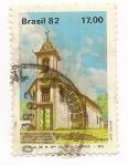 Stamps Brazil -  Igreja de N. Sra. Do O-Sabara