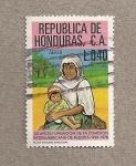 Stamps Honduras -  50 Aniv. de la Comisión Interamericana de mujeres