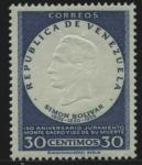 Stamps Venezuela -  YVERT Nº 539/45 *