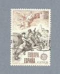Stamps Spain -  Correo de Gabinete y Postillón (repetido)