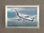 Stamps Brazil -  Avión Embraer