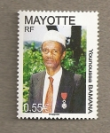 Stamps Africa - Mayotte -  Younoussa Bamana